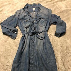 H&M soft denim dress